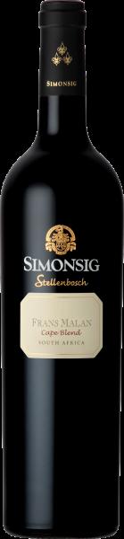 Frans Malan Cape Blend, Simonsig Wine Estate - Stellenbosch Südafrika im Weinhandel Regenbogen