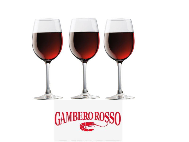 Gambero Rosso Drei-Gläser-Weine im Weinhandel Regenbogen